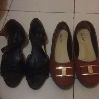 Flatshoes Size 37 Take All 40rb Aja