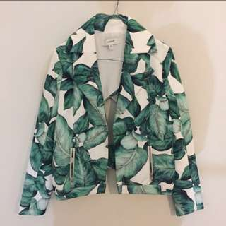 Cameo Banana Leaf Jacket