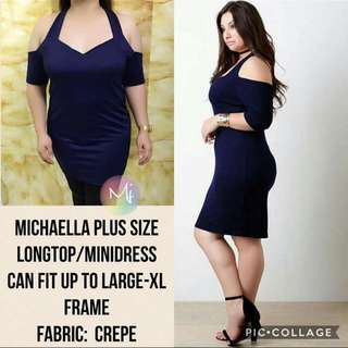 Michaella Plus Size Long Top/ Dress