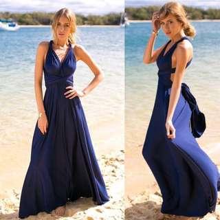 Navy Multiway Formal Dress