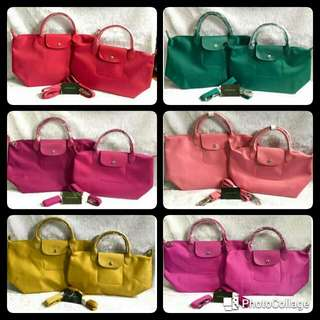 Buy1take1 100% Authentic Longchamp Neo Large And Medium Size