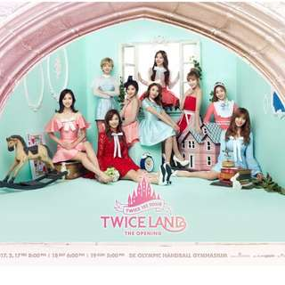TWICELAND CAT 2 Tickets