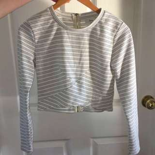 Ava Crop Top Size 12