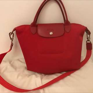 Long Champ Neo Red