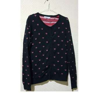(REPRICE!) BOSSINI LONG SLEEVE FOX PRINT SIZE L