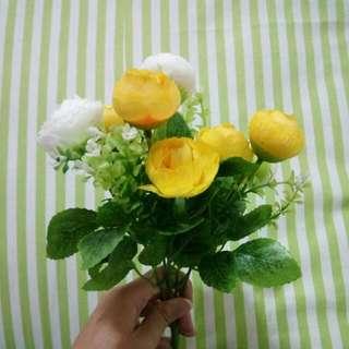 [REPRICE] Artificial Flowers Bunga Plastik