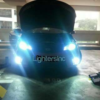 HID Conversion Kit / Hid Bulbs With Installations 😄