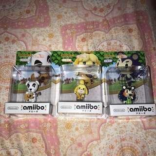 Nintendo Amiibo (Animal crossing)