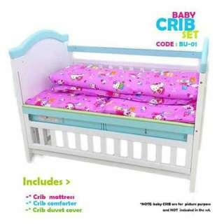 BABY CRIB 3PC COMPORTER SET