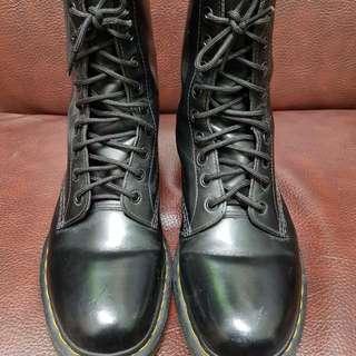 Dr.martens 馬丁大夫 黑色10孔靴 #手滑買太多