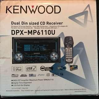 Kenwood Head Unit - Model DPX-MP6110U