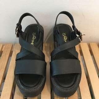 Platform Sandal Chunky Heels