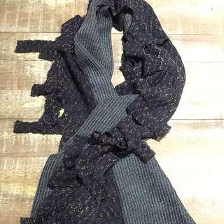 🚚 拼接圍巾