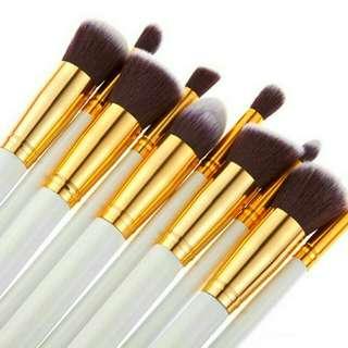 10pcs Kabuki Brushes