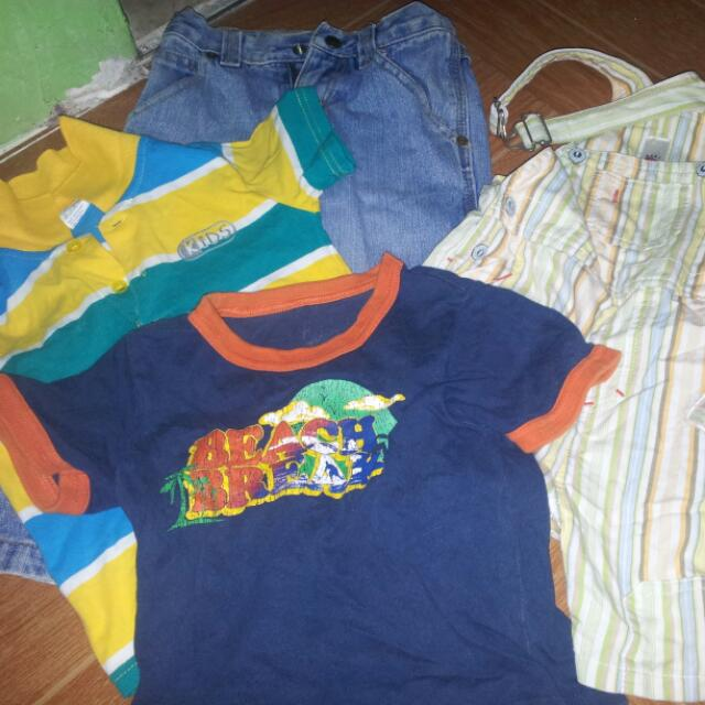 4pcs Take All Clothes P200