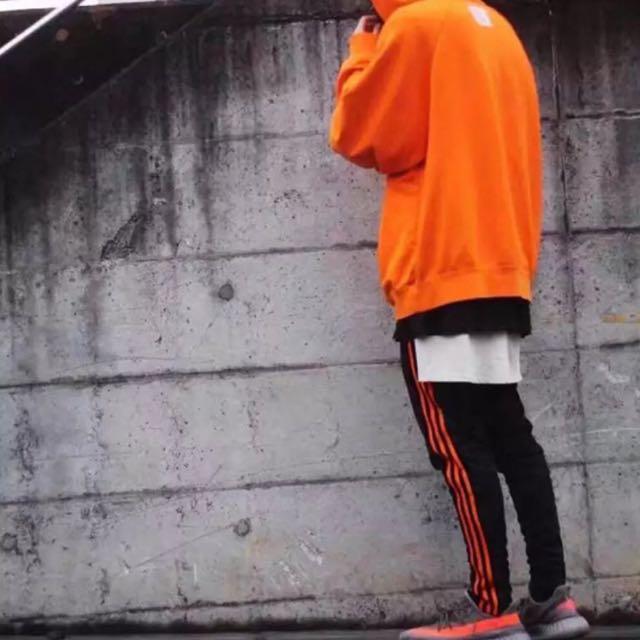 黑橘三線運動褲