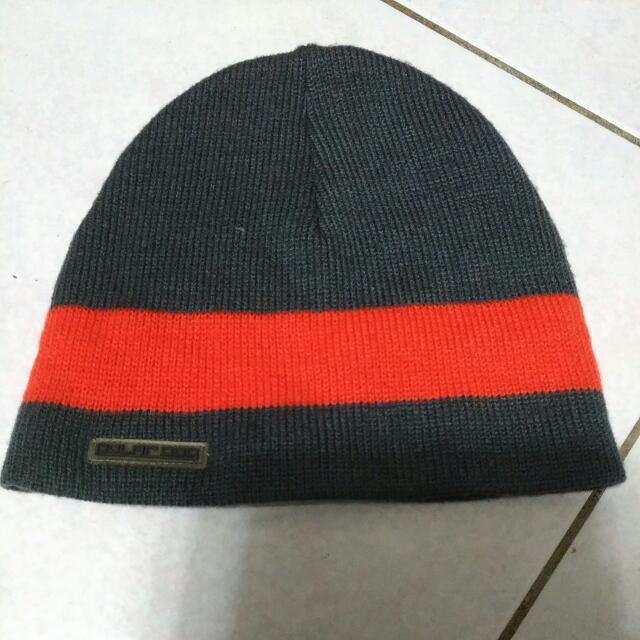 針織毛線扁帽