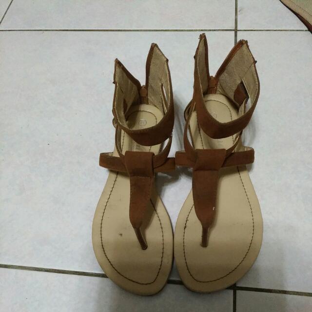 羅馬夾腳典雅涼鞋