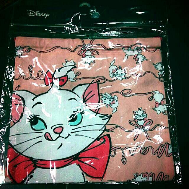 迪士尼瑪麗貓束口袋