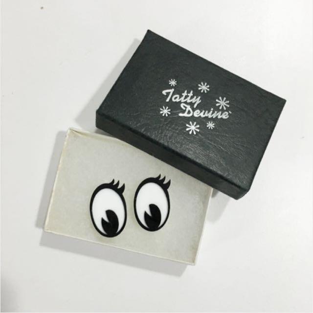 #運費我來出 韓流明星著用 Tatty Devine 手工耳環 少女時代 2NE1 SHINee