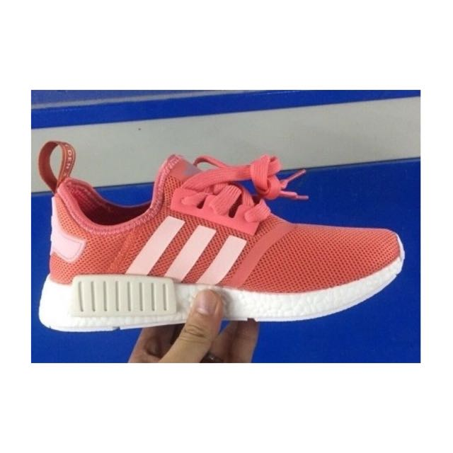 Adidas NMD S76006 Salmon Peach R1 Runner Coral Raw Pink Vappn Boost