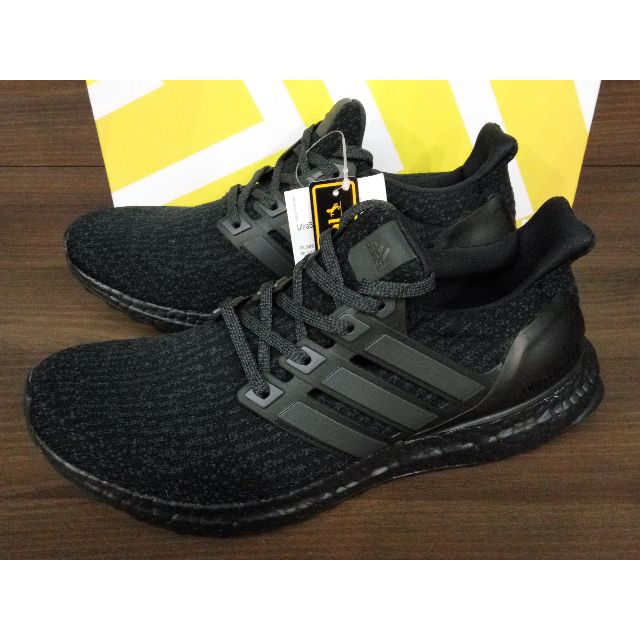 bea911d9445 Adidas Ultra Boost 3.0 Triple Black BA8920