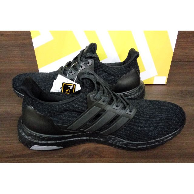 ca9a3fc56 Adidas Ultra Boost 3.0 Triple Black BA8920