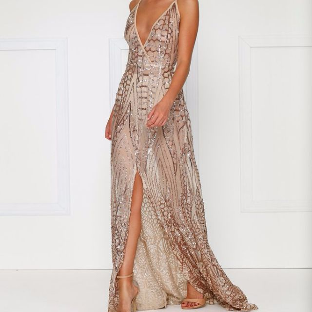 Almour The Label - Cristal Gown - Rose Gold