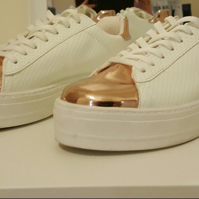 ASOS Sneakers- Rose Gold