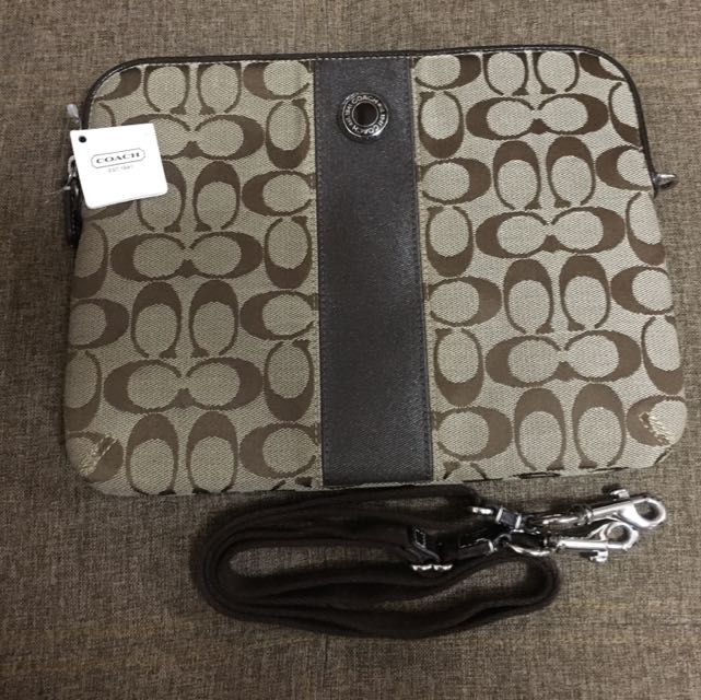 Authentic Coach iPad Bag