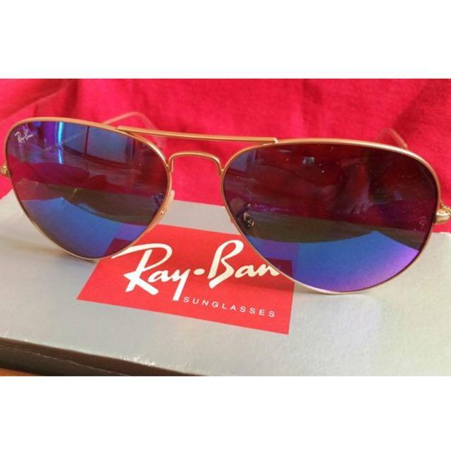 Authentic Ray-Ban Aviator Flash Lens