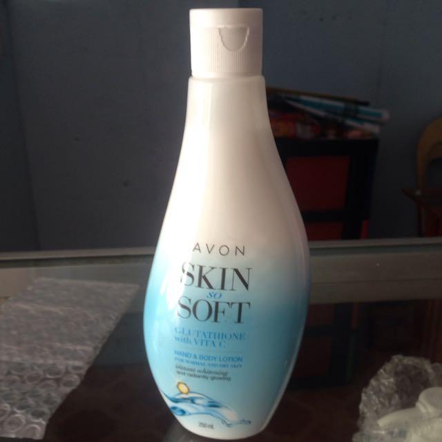 Avon Skin So Soft Glutathione With Vit C