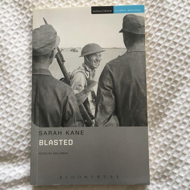 Blasted, Author: Sarah Kane