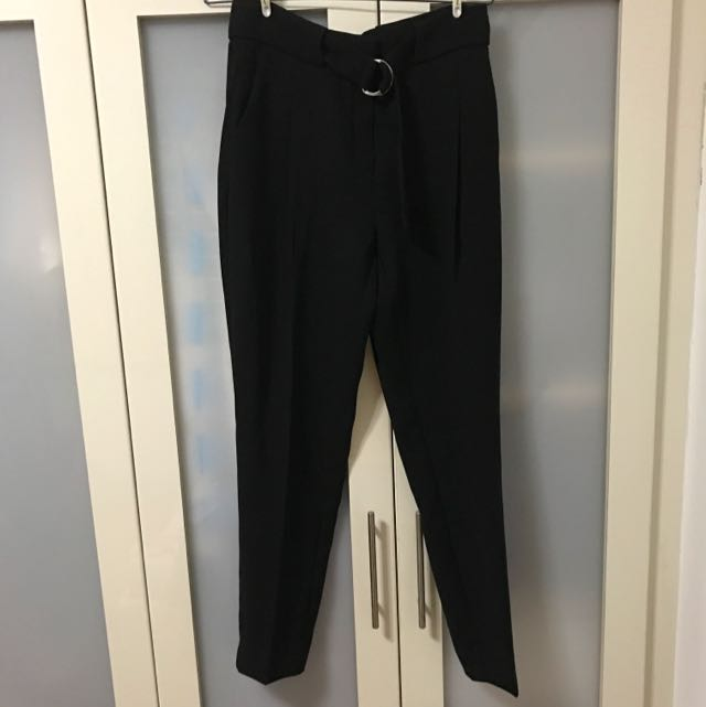 f8959528a BN Mango Black Pants, Women's Fashion, Clothes, Pants, Jeans & Shorts on  Carousell