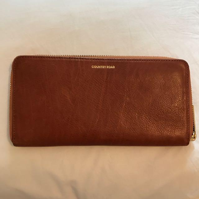 Brown CR Wallet