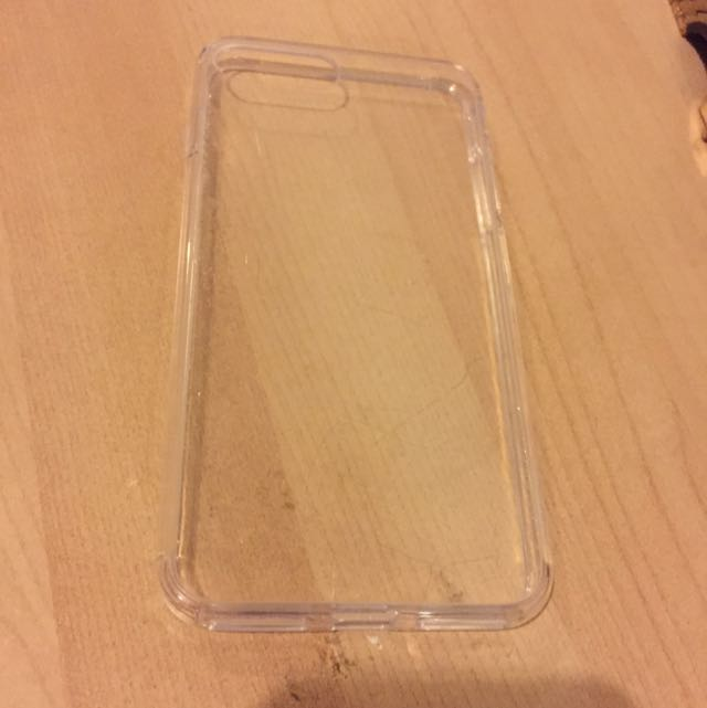 Clear 7+ iPhone Casing