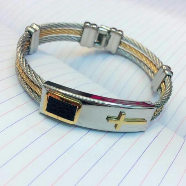 Cross Bracelette 2pcs(COUPLE)