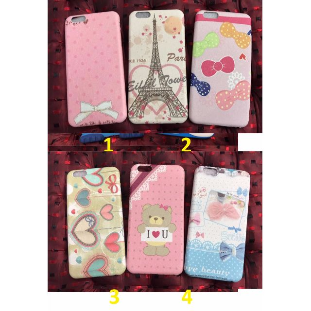 Cute and Girly Designed Mobile Phone Soft Case for Iphone 6+, 6s+  _AB15