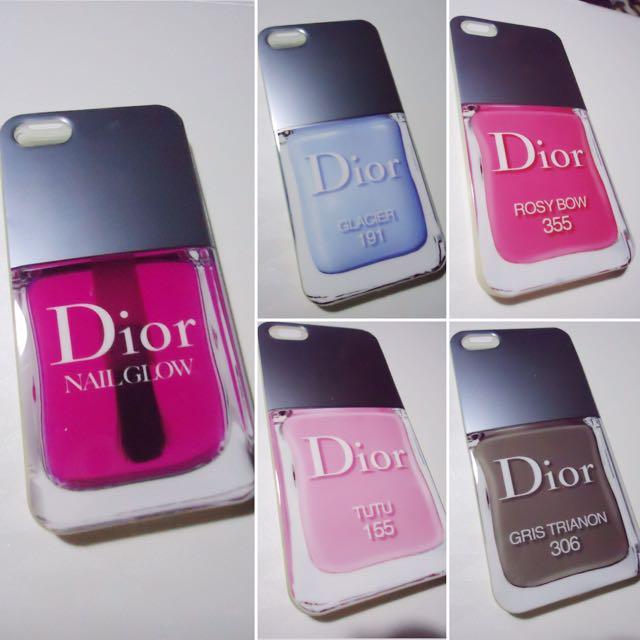 Dior iPhone 4/4s & 5/5s Soft Case