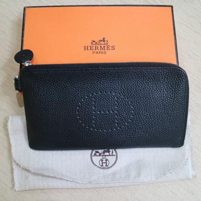 Dompet Hermes Super Quality Size 11x20 Cm Mulussss ,cuma Pernah 2x Pakai  Komplit Sesuai Pic Fix Price Ongkir Ditanggung Pembeli