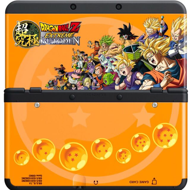 Dragon Ball Z Extreme Butoden Nintendo 3DS Cover Plates!