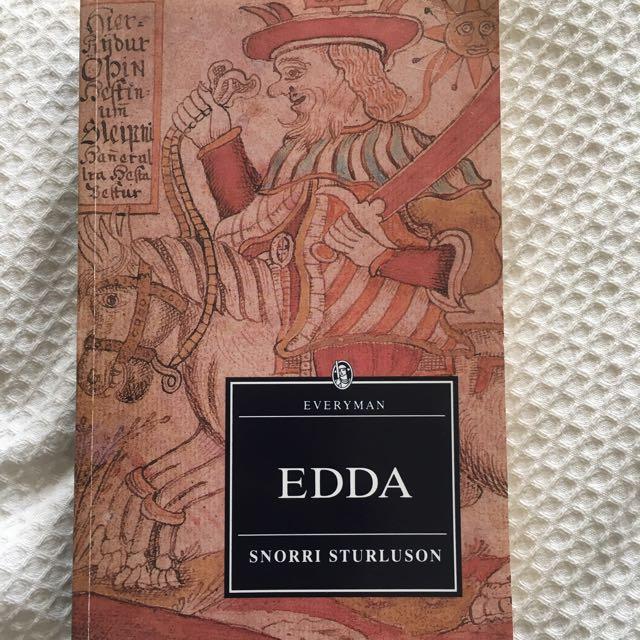 Edda, Author: Snorri Sturluson