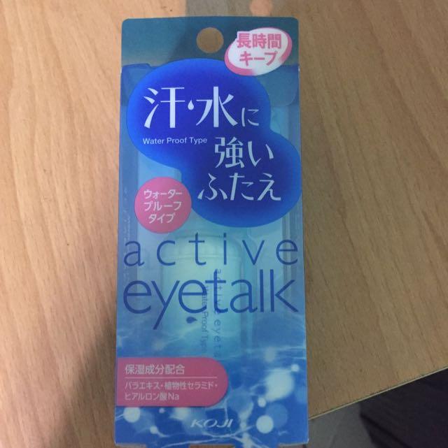 eyetalk 雙眼皮膠水 防水防汗 藍瓶