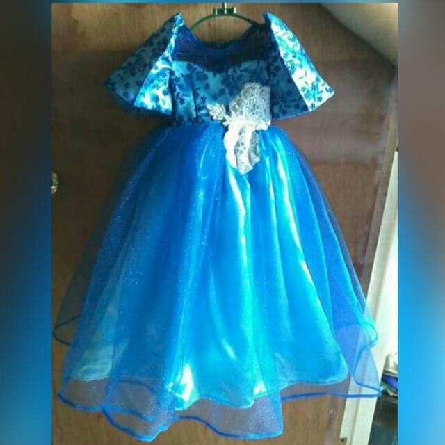 Filipiniana Gown For 1-3 yrs old, Babies & Kids, Girl\'s Apparel on ...