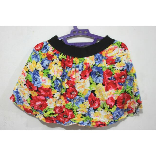 Floral Skirt C-011
