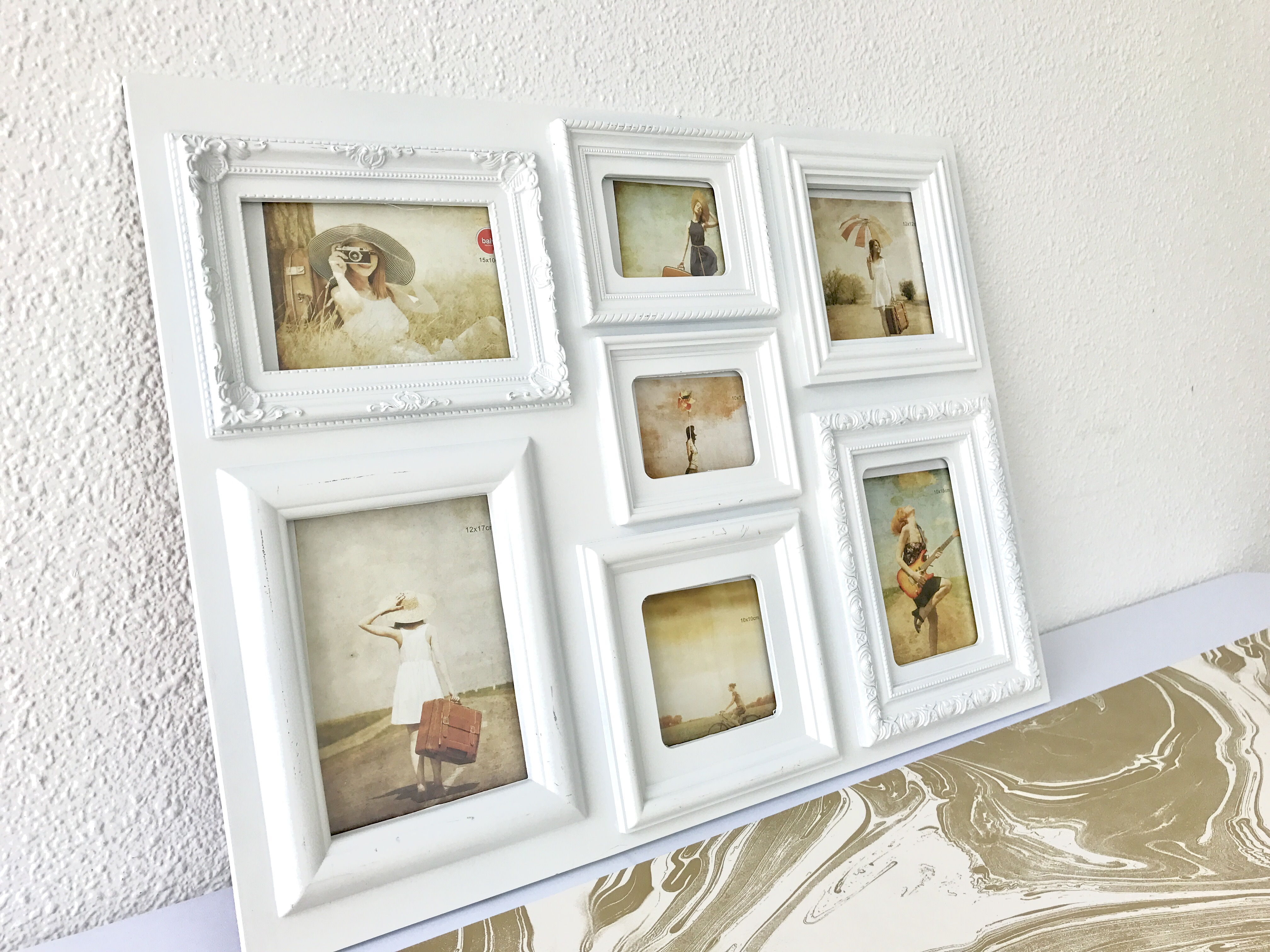 For rent: Large white victorian photo frame, Design & Craft, Others ...