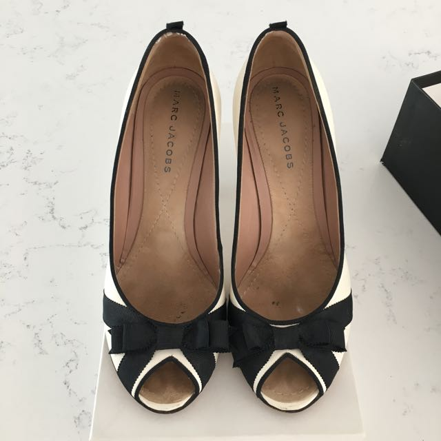 Genuine Marc Jacobs Heels - Black And White