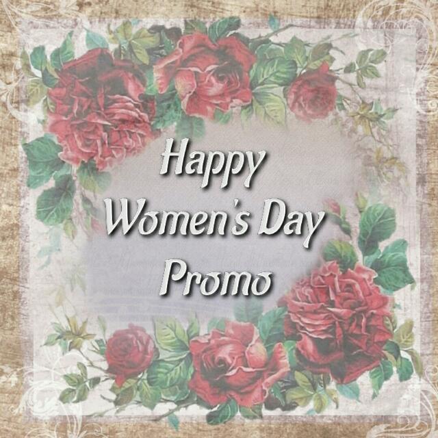 Happy Women's day promo