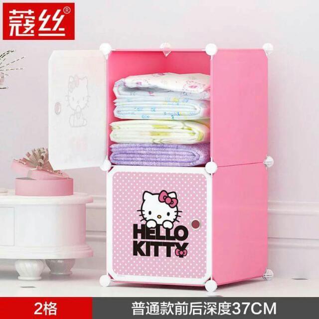 Hello Kitty DIY cabinet