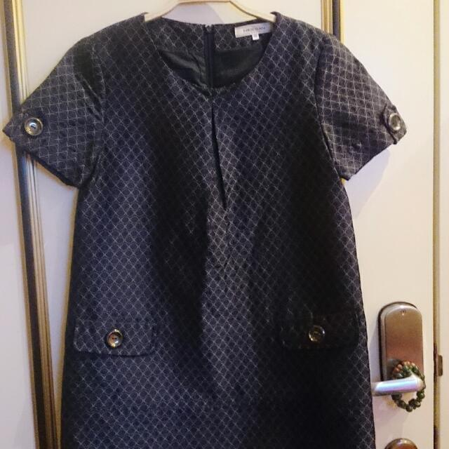 Hidesan海蒂山設計師短版洋裝長版上衣